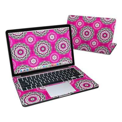 MacBook Pro Retina 13in Skin - Boho Girl Medallions