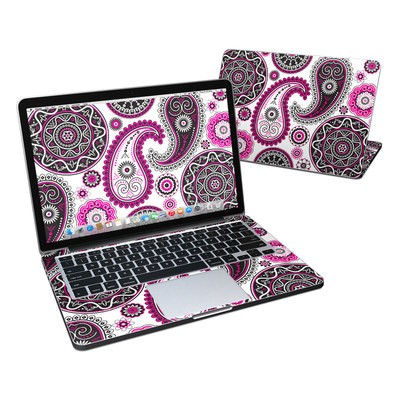 MacBook Pro Retina 13in Skin - Boho Girl Paisley
