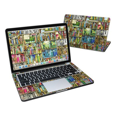 MacBook Pro Retina 13in Skin - Bookshelf