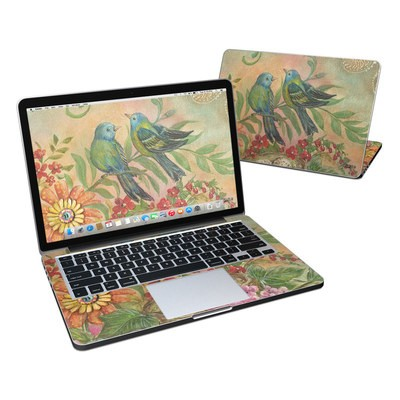 MacBook Pro Retina 13in Skin - Splendid Botanical
