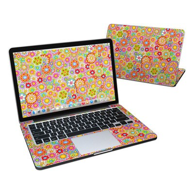 MacBook Pro Retina 13in Skin - Bright Ditzy