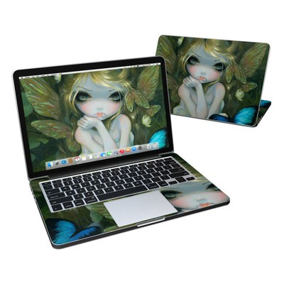 MacBook Pro Retina 13in Skin - Butterfly Lily