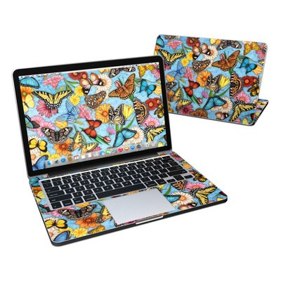MacBook Pro Retina 13in Skin - Butterfly Land