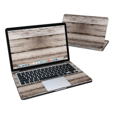 MacBook Pro Retina 13in Skin - Barn Wood