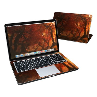MacBook Pro Retina 13in Skin - Canopy Creek Autumn