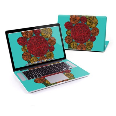 MacBook Pro Retina 13in Skin - Carnaval Circles