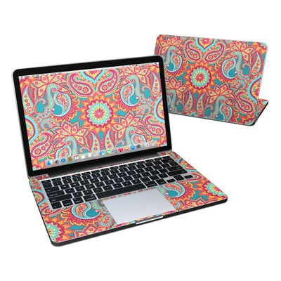 MacBook Pro Retina 13in Skin - Carnival Paisley