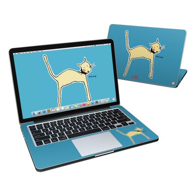 MacBook Pro Retina 13in Skin - Cat