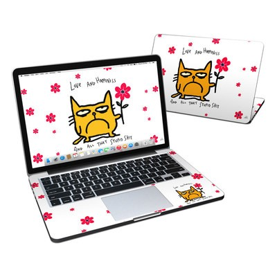 MacBook Pro Retina 13in Skin - Catwad Happy