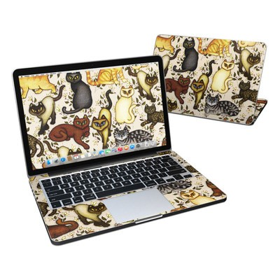 MacBook Pro Retina 13in Skin - Cats