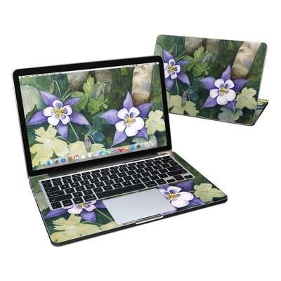 MacBook Pro Retina 13in Skin - Colorado Columbines
