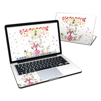 MacBook Pro Retina 13in Skin - Christmas Circus