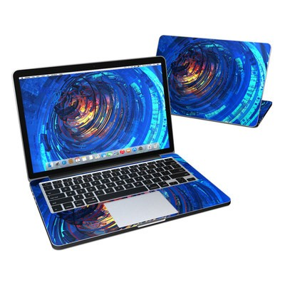 MacBook Pro Retina 13in Skin - Clockwork