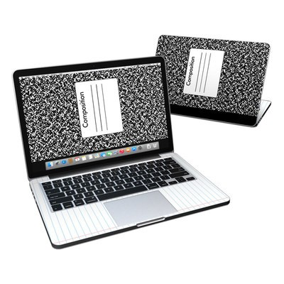 MacBook Pro Retina 13in Skin - Composition Notebook