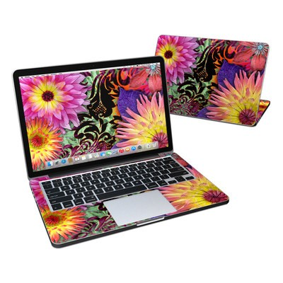 MacBook Pro Retina 13in Skin - Cosmic Damask