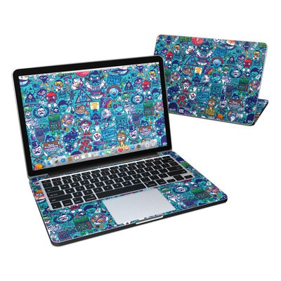 MacBook Pro Retina 13in Skin - Cosmic Ray