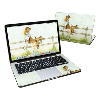 MacBook Pro Retina 13in Skin - Cowgirl Glam