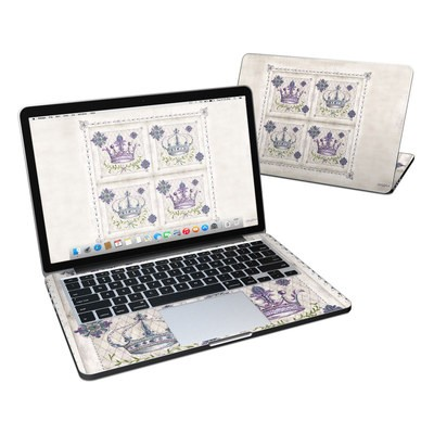 MacBook Pro Retina 13in Skin - Purple Crown