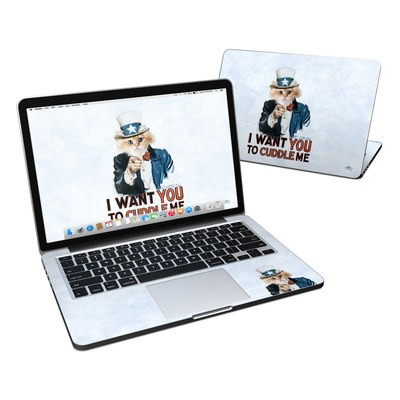 MacBook Pro Retina 13in Skin - Cuddle Me