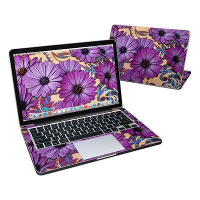 MacBook Pro Retina 13in Skin - Daisy Damask