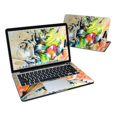 MacBook Pro Retina 13in Skin - Dance