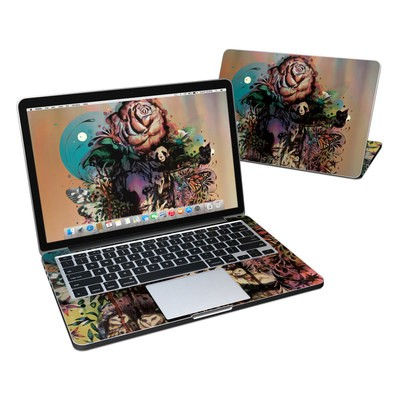 MacBook Pro Retina 13in Skin - Doom and Bloom