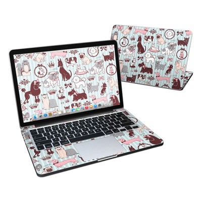 MacBook Pro Retina 13in Skin - Doggy Boudoir
