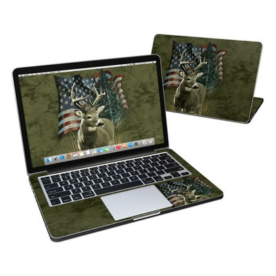 MacBook Pro Retina 13in Skin - Deer Flag