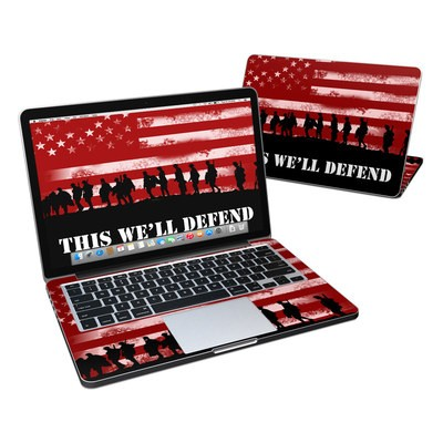 MacBook Pro Retina 13in Skin - Defend