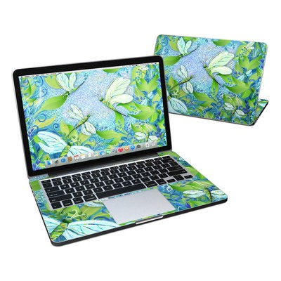 MacBook Pro Retina 13in Skin - Dragonfly Fantasy