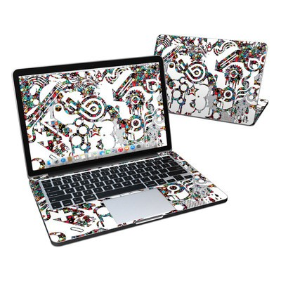MacBook Pro Retina 13in Skin - Dots