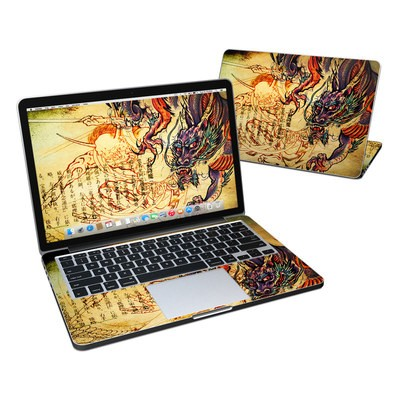 MacBook Pro Retina 13in Skin - Dragon Legend