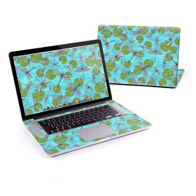 MacBook Pro Retina 13in Skin - Dragonflies Over Pond