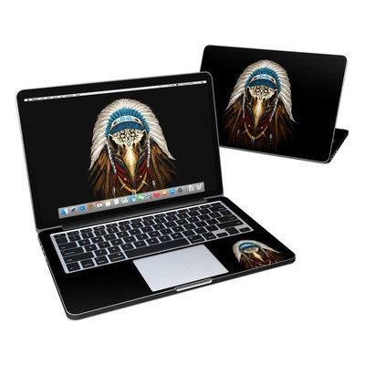 MacBook Pro Retina 13in Skin - Eagle Skull