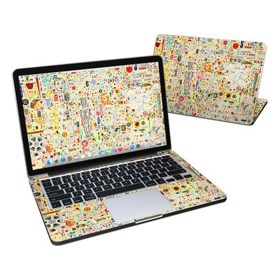 MacBook Pro Retina 13in Skin - Effloresce