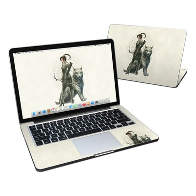 MacBook Pro Retina 13in Skin - Half Elf Girl