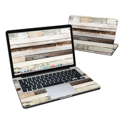 MacBook Pro Retina 13in Skin - Eclectic Wood