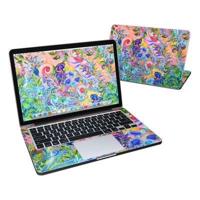 MacBook Pro Retina 13in Skin - Fantasy Garden