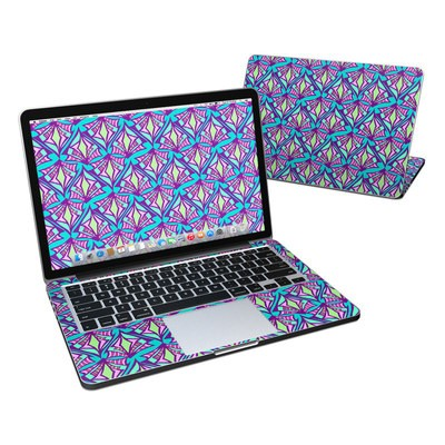 MacBook Pro Retina 13in Skin - Fly Away Teal