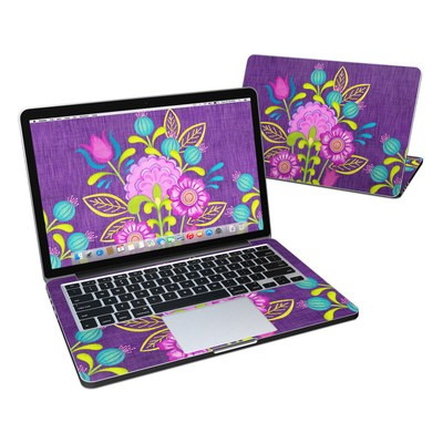 MacBook Pro Retina 13in Skin - Floral Bouquet