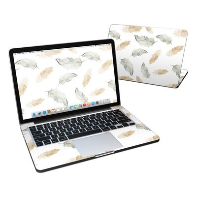 MacBook Pro Retina 13in Skin - Feathers