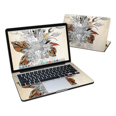 MacBook Pro Retina 13in Skin - Fall Floral