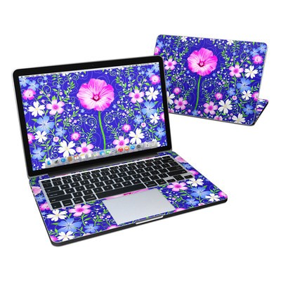 MacBook Pro Retina 13in Skin - Floral Harmony