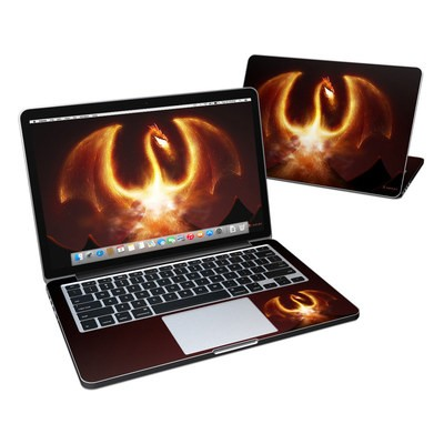MacBook Pro Retina 13in Skin - Fire Dragon