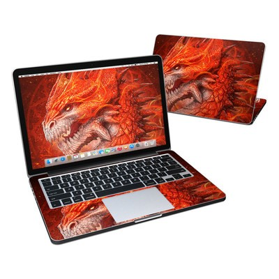 MacBook Pro Retina 13in Skin - Flame Dragon