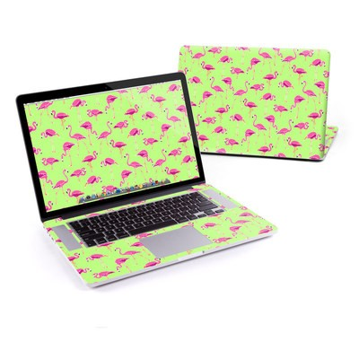MacBook Pro Retina 13in Skin - Flamingo Day