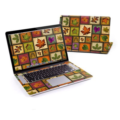 MacBook Pro Retina 13in Skin - Fall Leaves