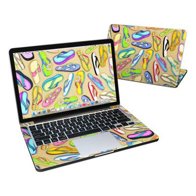MacBook Pro Retina 13in Skin - Flip Flops
