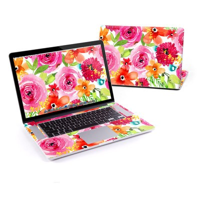MacBook Pro Retina 13in Skin - Floral Pop