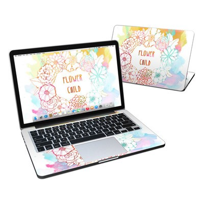 MacBook Pro Retina 13in Skin - Flower Child
